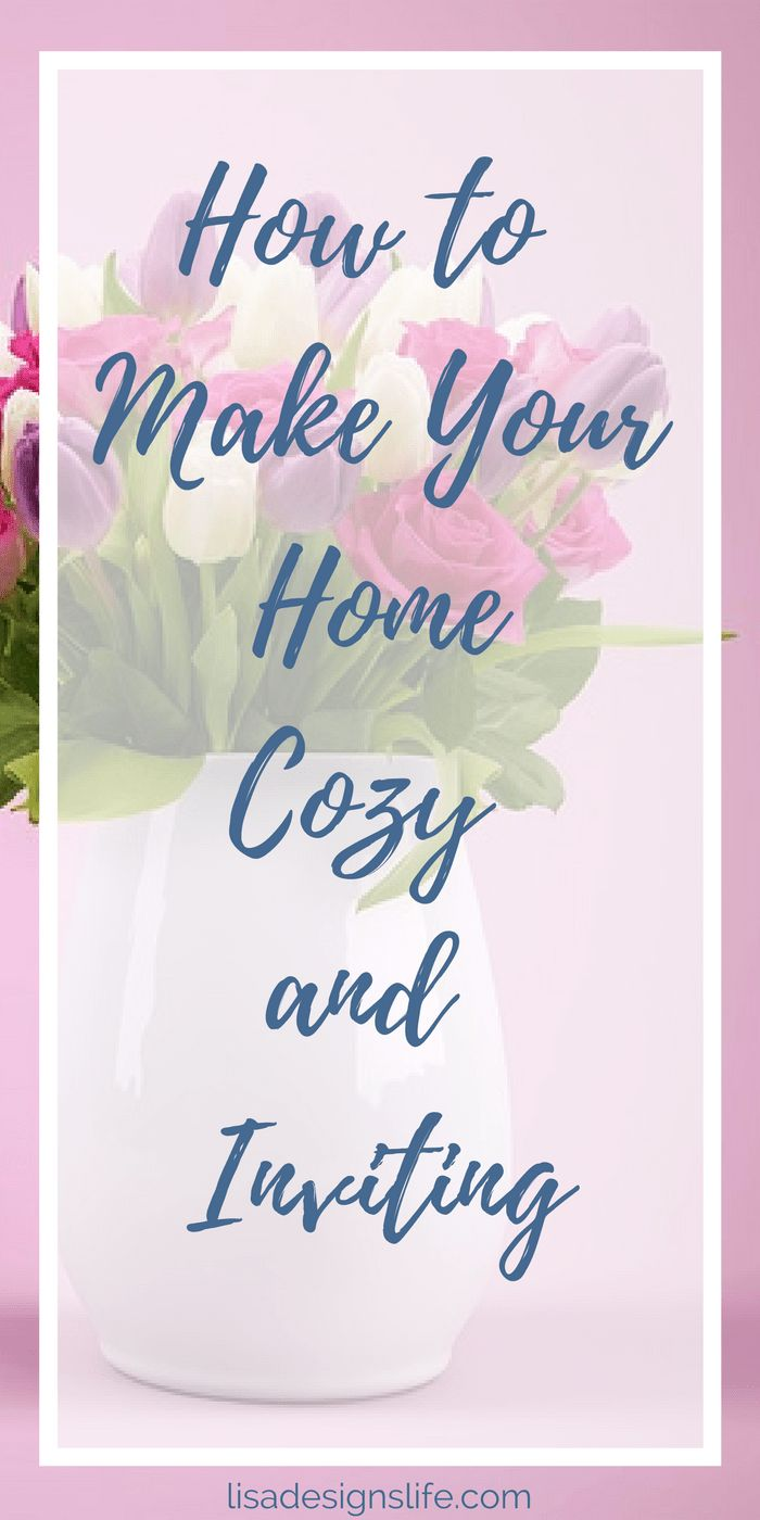 Sharing a few of my favourite ways to create a cozy and comfortable space, helping you turn your house into a home. You are invited, so click the image and come on in!