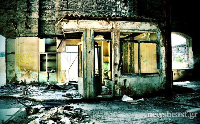 Επίσκεψη στο παλιό εργοστάσιο λιπασμάτων | Newsbeast