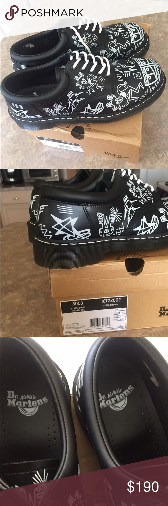Dr. Martens Aztec 8053 Brand new ... Never worn .. Size 11 ... Sold out everywhere dr martens Aztec ... feel free to ask questions Dr. Martens Shoes Oxfords & Derbys