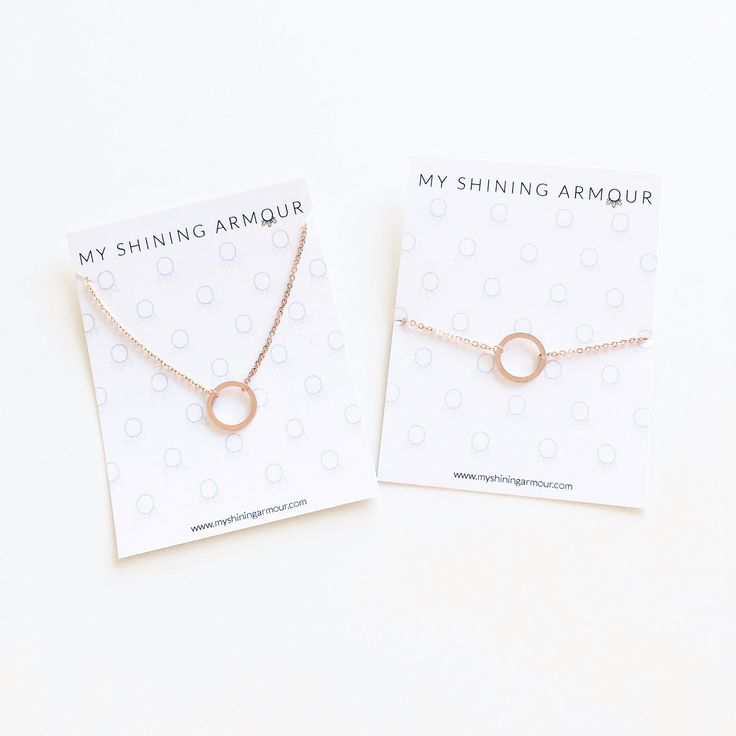 The Karma Necklace & Bracelet now come in Rose Gold.. Holy Moly they're Faaab!!   Shop at myshiningarmour.com