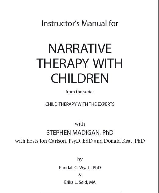 biblical integration in narrative therapy Narrative practice and christian belief  between narrative therapy and narrative theology  for thechristian, biblical stories are the truth.