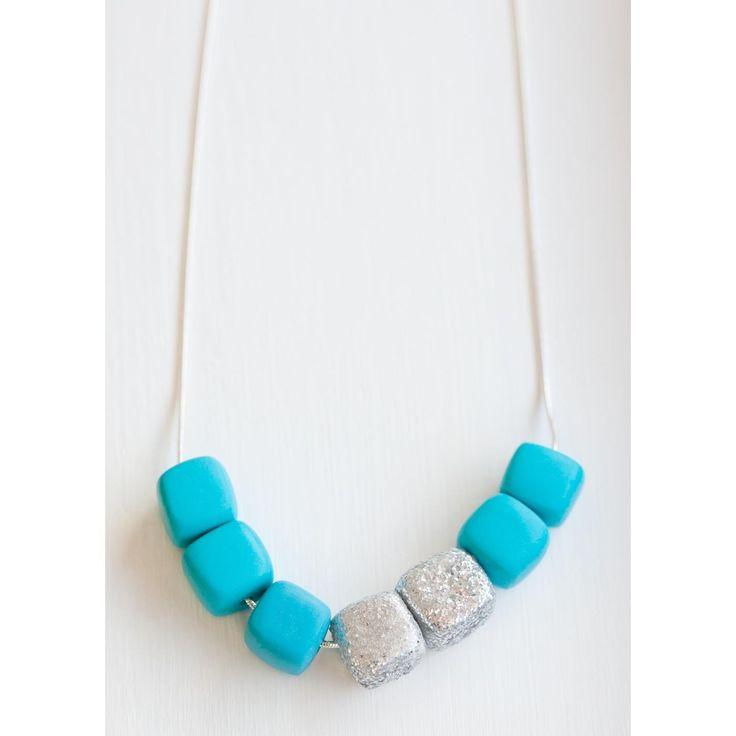 $32 Sea Star Cube Necklace by Ashloc Designs on Handmade Australia www.hand-made.com.au/ashlocdesigns