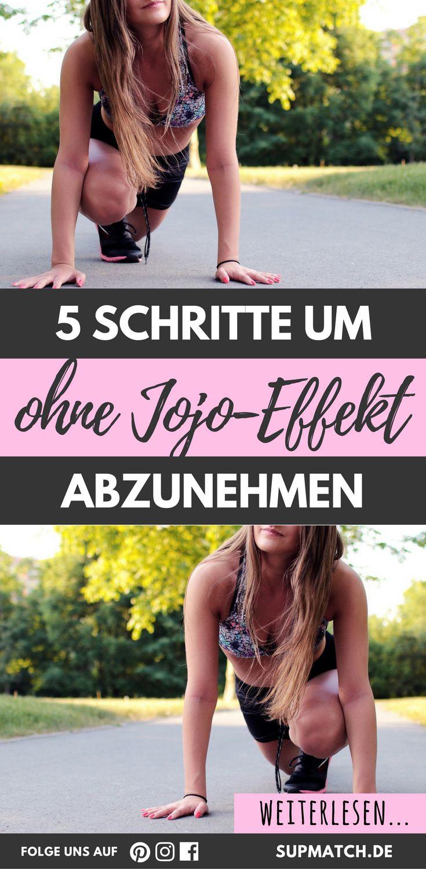 5 Schritte um ohne Jojo-Effekt abzunehmen