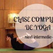 Vídeo de yoga: extensiones de columna e inversiones