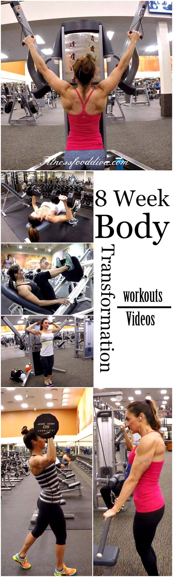 8 Week Body Transformation is now at your finger tips. All the days and workouts are available and I hope you will love it as much as I did!   Daily Calendar Day 1: Legs Day 2: Chest and Triceps Day 3: Active Rest: Leave the weights alone, and get in cardio only. Day...Read More »