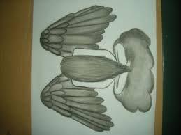 Znalezione obrazy dla zapytania rysunki ołówkiem anioły
