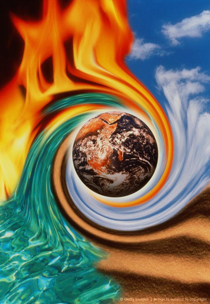 Огонь вода земля воздух в одном картинки