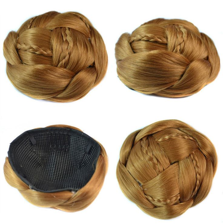 Synthetic  hair buns bun hair chignon color of 26# hair extension chignon Q18