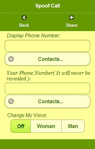 https://myphonerobot.com  Spoof Calls - cahnge your voice during a live call. Change the caller id so the call will appear as coming from any number you want.