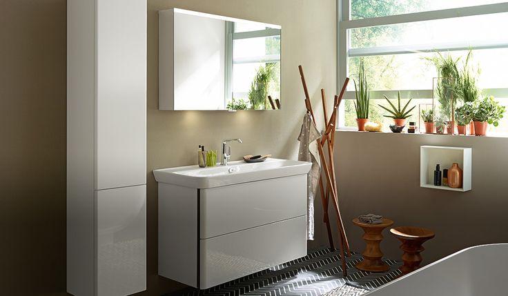 burgbad iveo keramik waschbecken spiegelschränke und