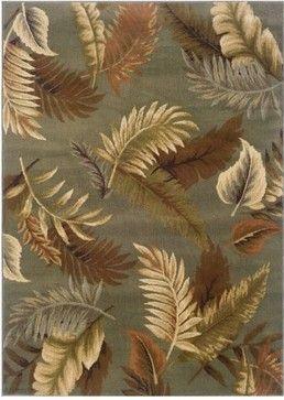 Oriental Weavers Sphinx tropical rugs | Sphinx by Oriental Weavers 1367A Hudson Area Rug - tropical - rugs ...