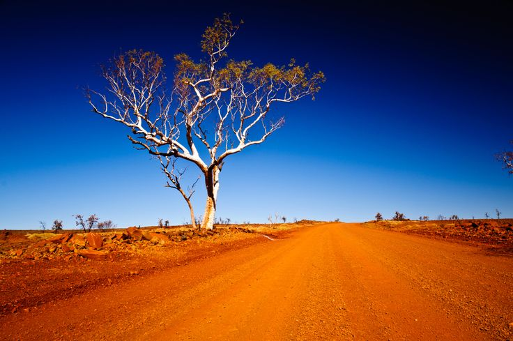 Driving through the Millstream Chichester National Park, Western Australia. Another spectacular place close to Karratha.