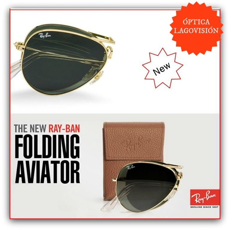 Ray-Ban aviator plegables !!
