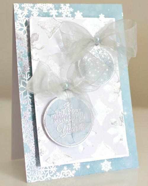 10 DIY Christmas Card Ideas Kaisercraft - Silver Bells By Alicia McNamara