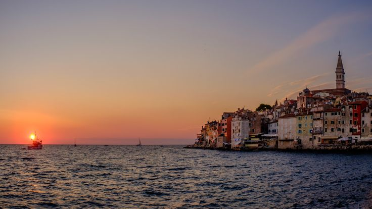 On The Edge Of Darkness is the title of this image that I took on the last evening of my recent family vacation. It was shot just before sunset in Rovinj, Croatia, one of the most charmingtowns of...