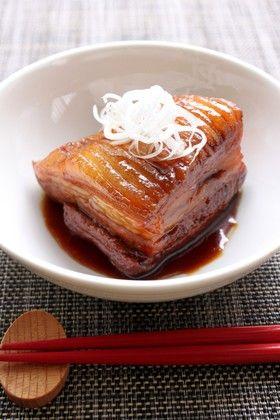 じっくりコトコト♪豚ばら肉の角煮