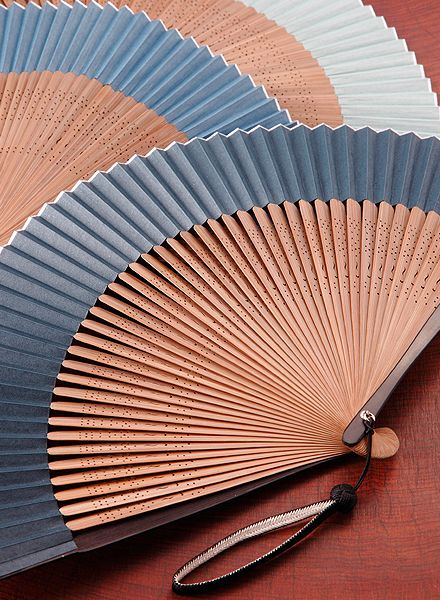 Japanese traditional Kyoto folding fans, Kyo Sensu