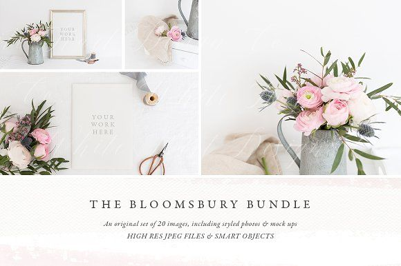 The Bloomsbury Bundle by White Hart Design Co. on @creativemarket