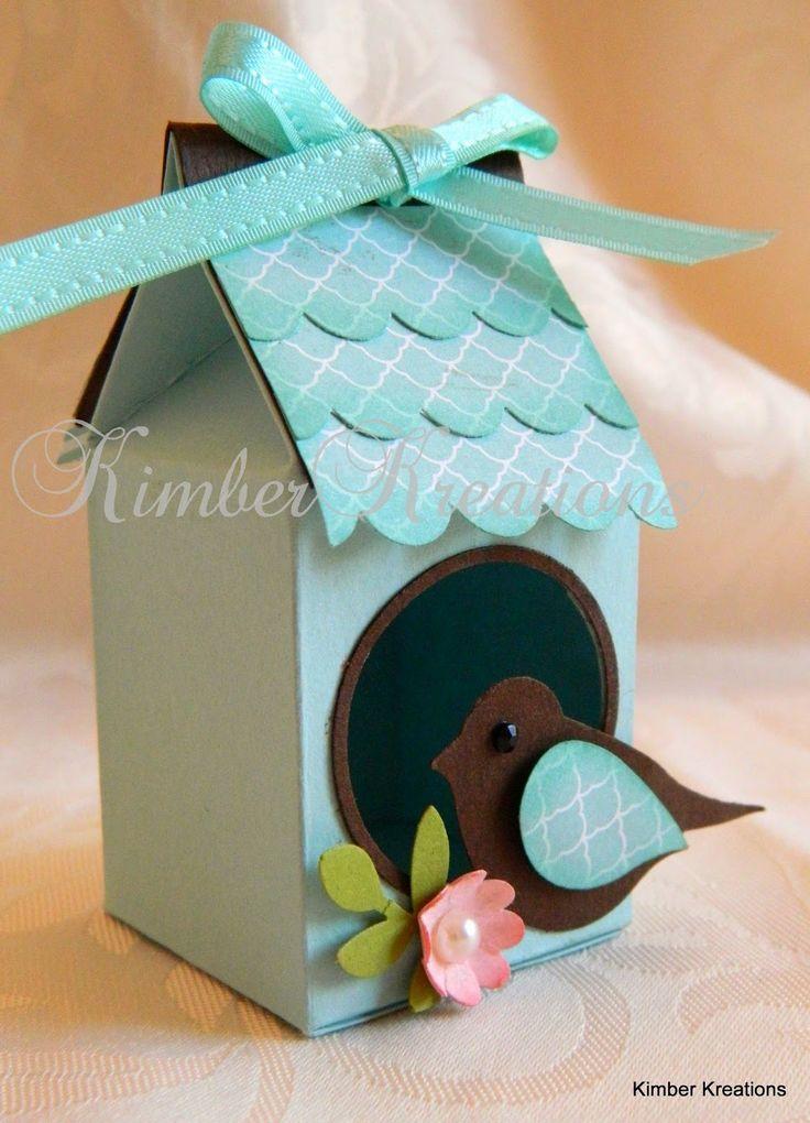 Kimber Kreations: Bird House Gift Box mini egg size