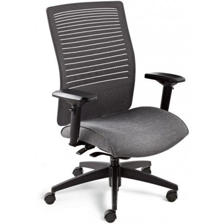 Global Loover 2662-8 Auto synchro-tilter chair.  FREE shipping in Canada at Ugoburo.ca