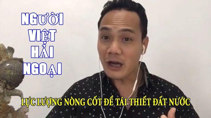 Huỳnh Quốc Huy: Người Việt hải ngoại sẽ là lực lượng nòng cốt để tái thiết Việt Nam - YouTube