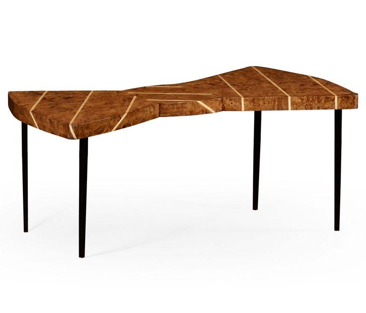 Burl oak bowtie coffee table from Alexander Julian. 1000  images about Alexander Julian Couture Furniture on Pinterest
