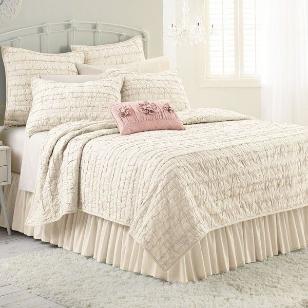 Best 25+ Lauren conrad bedding ideas on Pinterest | Pink bedding ... : ivory king quilt - Adamdwight.com