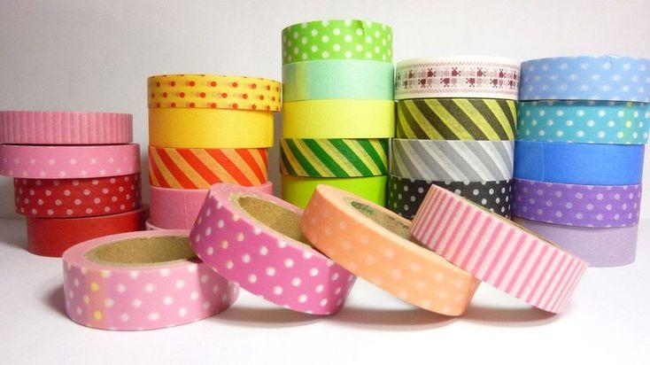 Cómo hacer tu propio washi tape casero