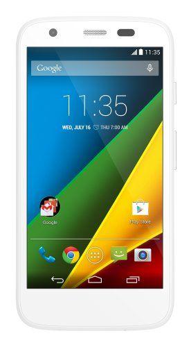 Motorola Moto G (1st Generation) Unlocked Cellphone 8GB White