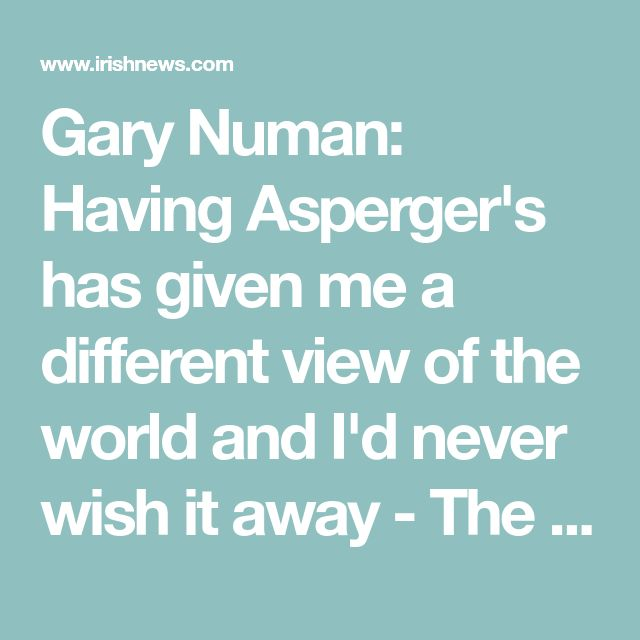 Gary Numan: Having Asperger's has given me a different view of the world and I'd never wish it away - The Irish News