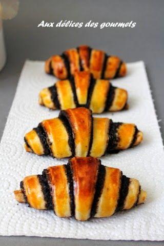 Rugelach croissants au chocolat