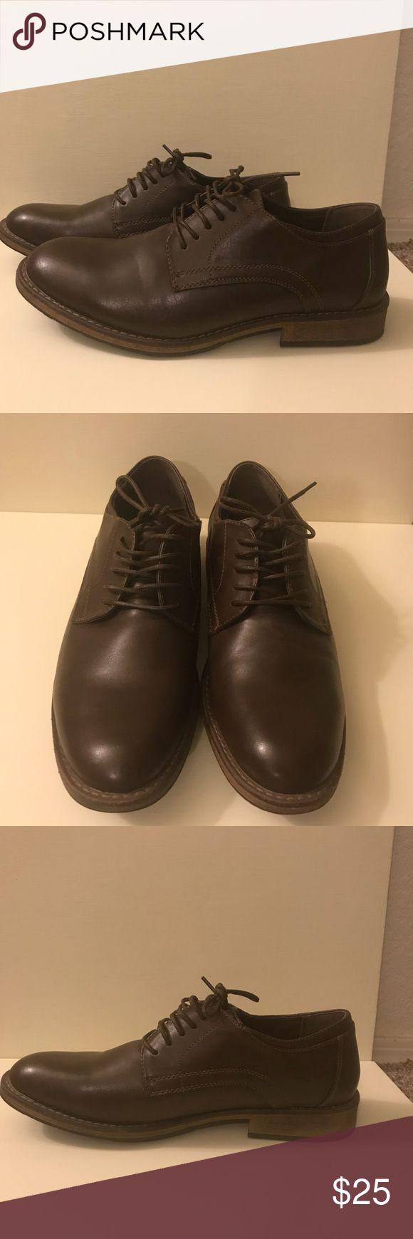 NWOT Brown Dress Shoes, Men's Size 10 NWOT Report Dress Shoes. Brown, Men's Size 10. Never worn, brand new. Excellent condition. Report Shoes Oxfords & Derbys