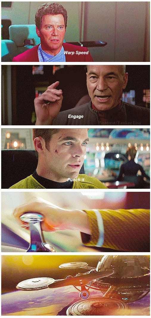 <3 Thank you new Star Trek movies for helping me feel like a trekkie! I actually have a desire to watch more Star Trek now. :)