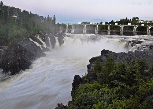 Grand Falls Gorge, New Brunswick, CA