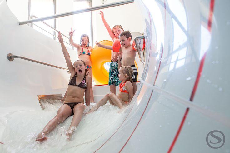 Stock 70m Reifenrutsche im Aqua Fun Park