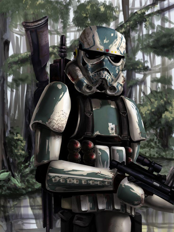 ArtStation - Stormtrooper concept, Christopher Lauto