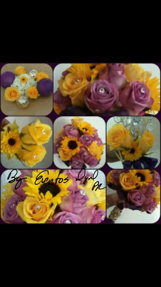 #Bouquet #Wedding #YellowPinkWedding