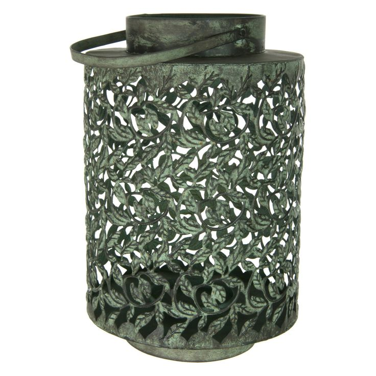 Oriental Furniture Wrought Iron Traditional Lantern - ID-LAMP7