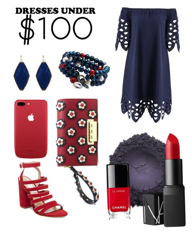 """""""Style for Less"""" by charmednotions on Polyvore featuring ZAC Zac Posen, Steve Madden, Chanel, NARS Cosmetics, contest and dresslily"""