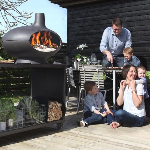Morsø Forno – Pizzaovn og udeovn i emaljeret støbejern fra Morsø Jernstøberi – køb her