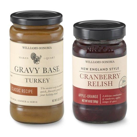 Williams-Sonoma Cranberry Relish & Turkey Gravy