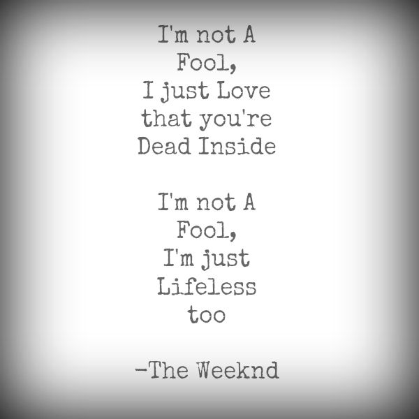 """The Weeknd   """"Belong To The World""""                   (KISS LAND)"""