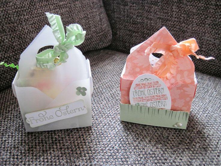 Stempelhimmel: Bag in a Box /Körbchen mit dem EnvelopePunchBoard mit Anleitung