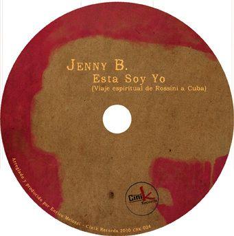 """Music Graphic - """"Esta soy yo"""" progetto grafico per il nuovo album di Jenny B."""