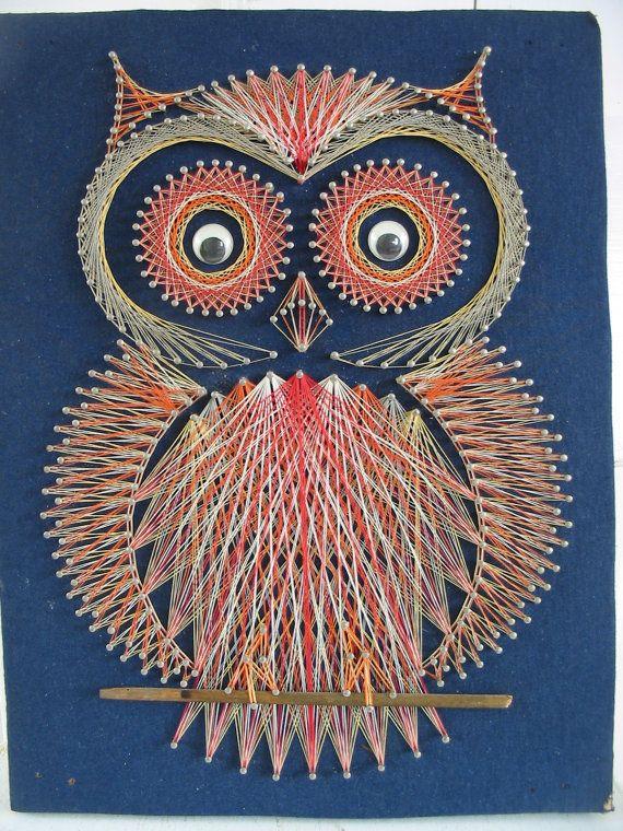 String Owl Art