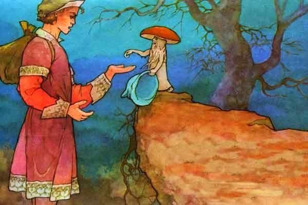 Сказки братьев гримм шапка невидимка