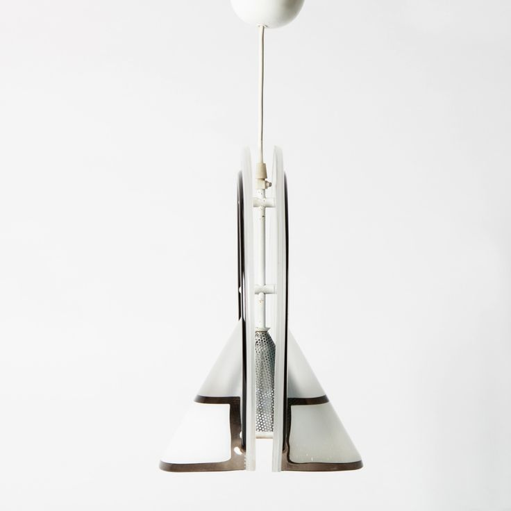 Lucite pendant lamp in style of Memphis Milano manufactured in the '80s.