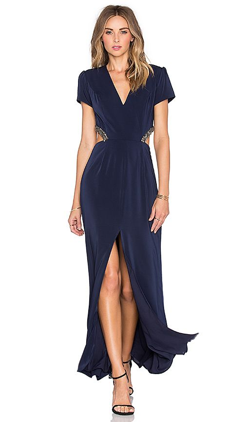 Shop for Lovers + Friends x REVOLVE Adaline Gown in Navy at REVOLVE. Free 2-3 day shipping and returns, 30 day price match guarantee.