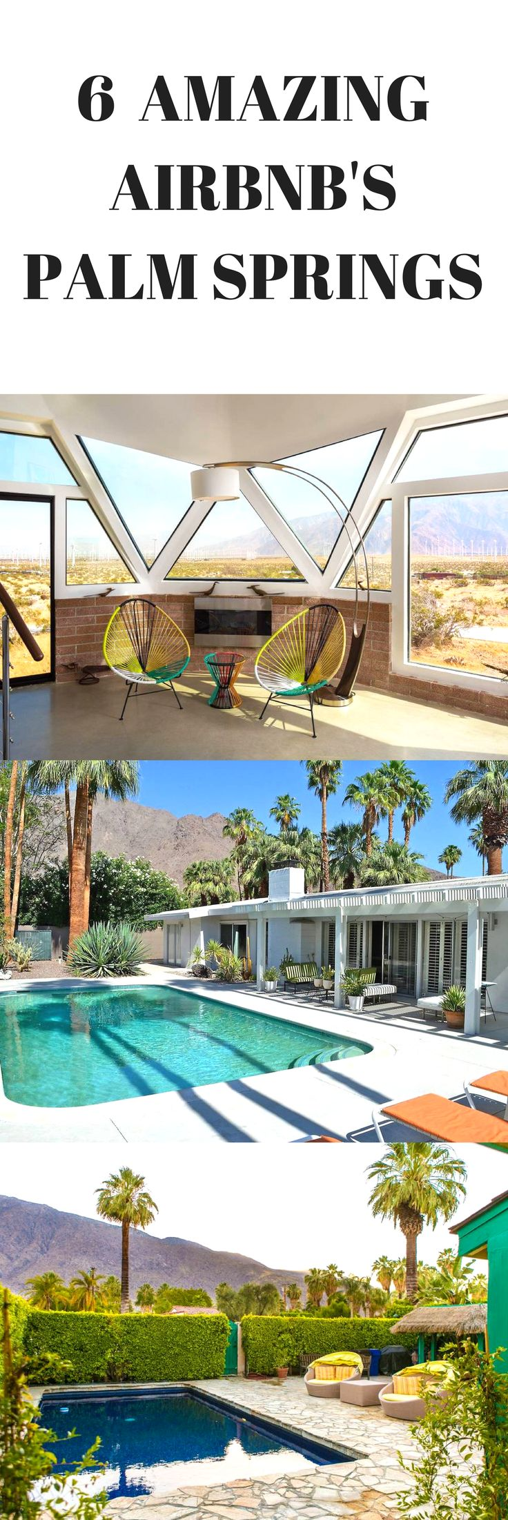 Luxury stay's in Palm Springs for the ultimate weekend away.