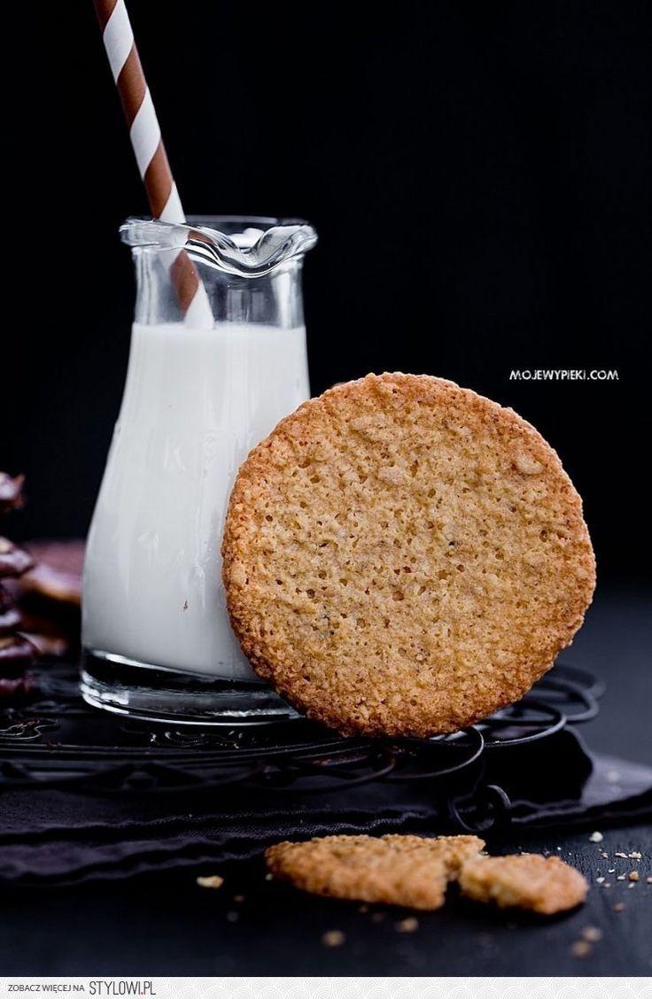 Moje Wypieki | Chrupiące ciastka owsiane z czekoladą na Stylowi.pl